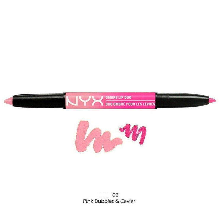 NYX Ombre Lip Duo 0.59g BOXED - Various Shades