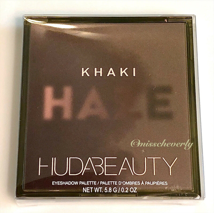 HUDA BEAUTY Khaki Haze Obsessions Eyeshadow Palette ~ NEW ~ SEALED ~ AUTHENTIC