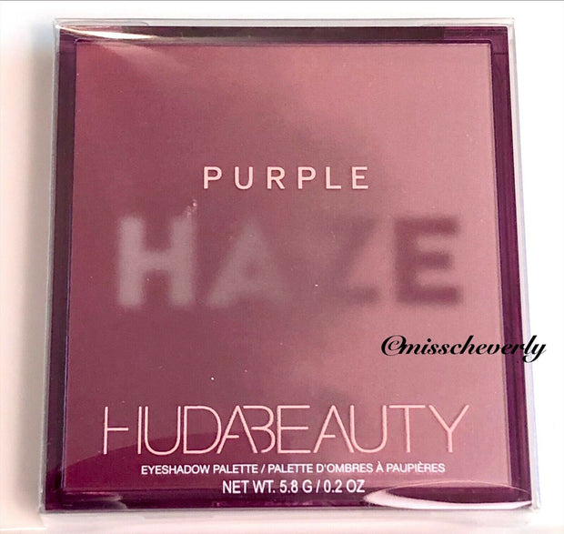 HUDA BEAUTY Purple Haze Obsessions Eyeshadow Palette ~ NEW ~ SEALED ~ AUTHENTIC