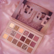 HUDA BEAUTY Topnotch Huda Beauty Nude Eyeshadow Palette (18 shades in 1 kit)