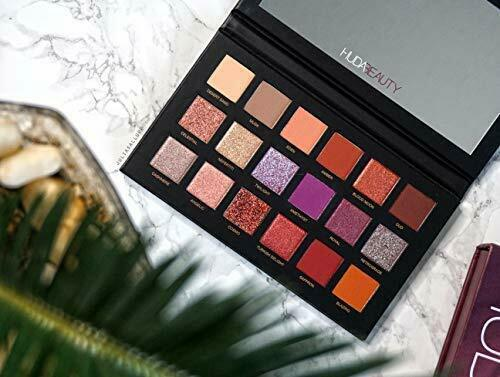 Huda Beauty | The Desert Dusk Palette (18 Shades) Eyeshadow | Multicolor.