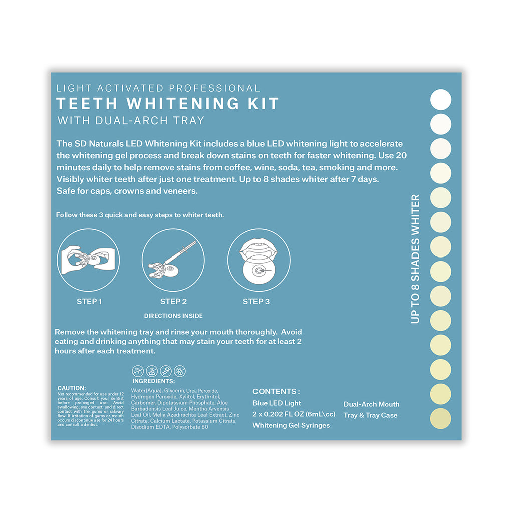 Blue LED 2 SY Accelerated Whitening Kit