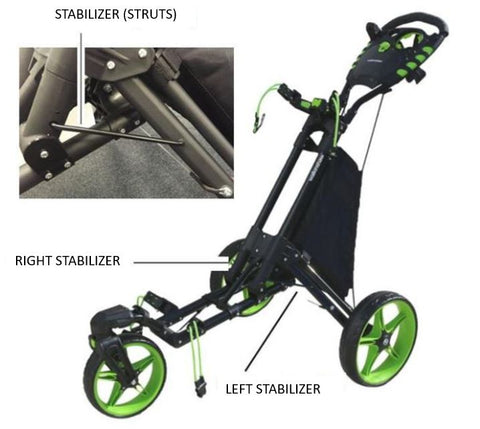 Walkinshaw Swivel 2.0 Buggy Spare Parts - Stabilizer (Struts)