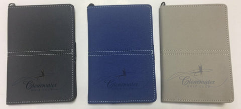 Scorecard Holder with Embossed Custom Logo