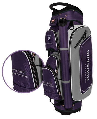 AFL Deluxe Cart Golf Bag NEW!