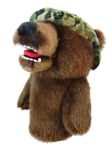Daphne Military Bear Golf Headcover (Due Late March)