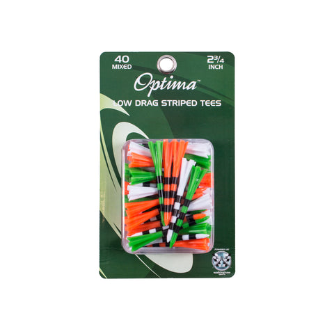 Optima High low No Resistance Golf Tees 40pk