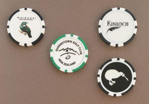 Poker Chip Golf Ball Marker