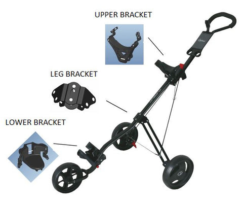 PGF Pursuit/Pulse Buggy Spare Parts - Brackets
