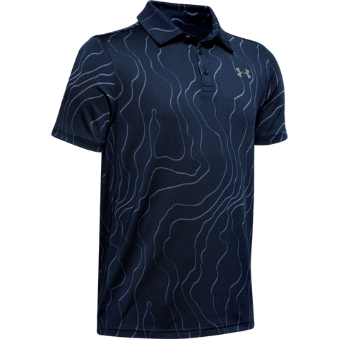 Under Armour Boys Playoff Polo