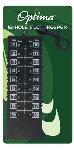 Optima 18 Hole Scorekeeper (Due Late June)