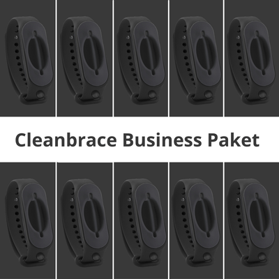 Cleanbrace All Black Business Sparpaket  (20 Stück)