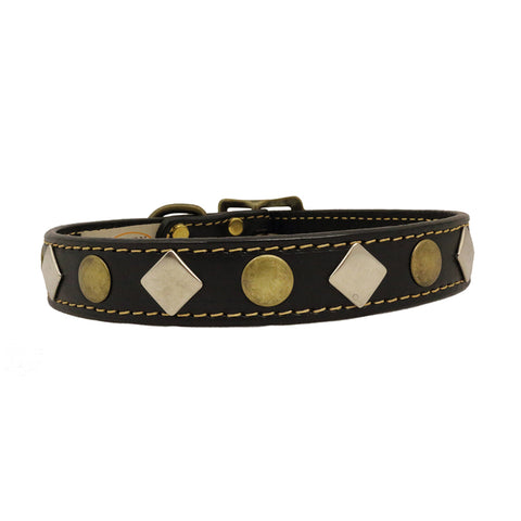 Auburn Leathercrafters Heirloom Studded Collars