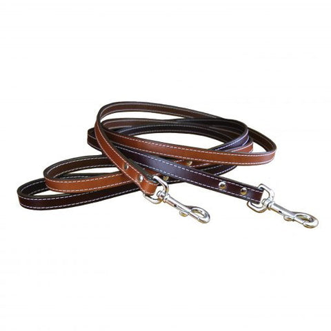 Auburn Leathercrafters Dover Court Leather Dog Lead
