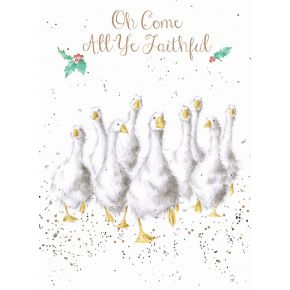 Wrendale Designs Card - Country Set Christmas