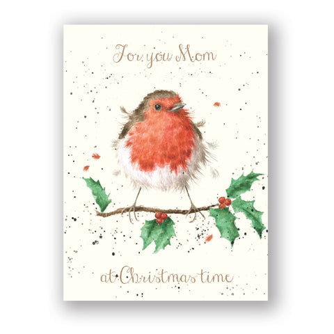 Wrendale Designs Card - Footprints in the Snow