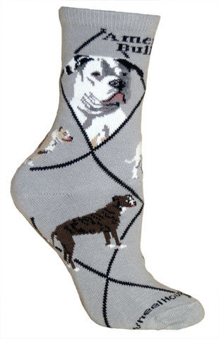 Wheel House Designs Socks, American Bulldog, Socks