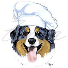 Fur Children Apron, Dog Gone Funny - Chef Not Responsible for Fur, Aprons