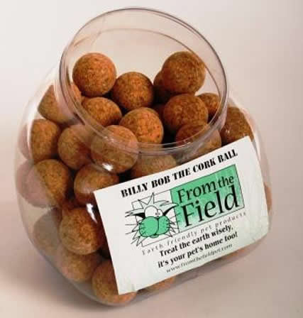 From the Field Billy Bob the Cork Ball, Pet Toys