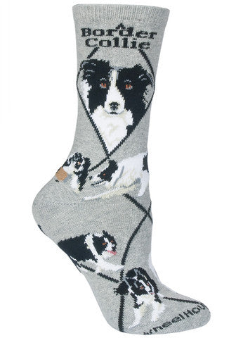 Wheel House Designs Socks, Border Collie, Socks