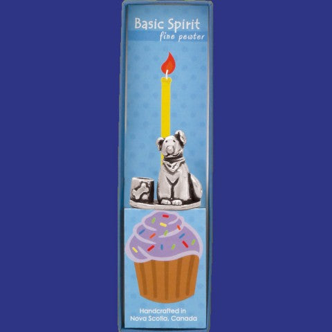 Basic Spirit Handcrafted Birthday Candle Holder Collection