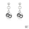 Dazzling Paws Jewelry Sterling Silver Earrings