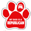 Imagine This Car Magnet, Pawlitical