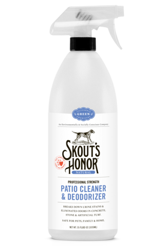 Skout's Honor Professional Strength, All-Natural Pet Patio Cleaner & Deodorizer