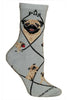 Wheel House Designs Socks, Pug