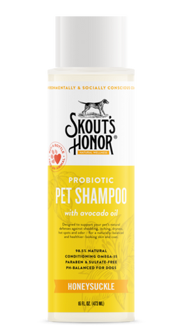 Skout's Honor Probiotic Pet Shampoo and Conditioner 2-In-1