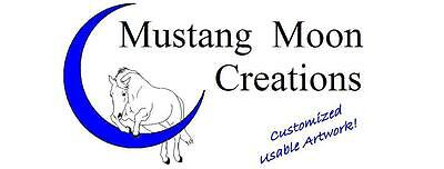 Ornaments by Mustang Moon Creations LLC