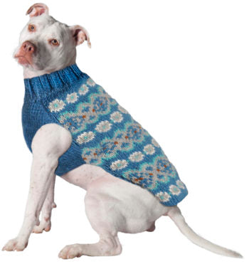 Chilly Dog Premium Wool Sweaters,  Fairisle Collection