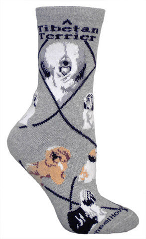 Wheel House Designs Socks, Tibetan Terrier, Socks
