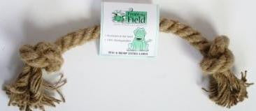 From the Field Natural Tug-A-Hemp Rope Toy, Pet Toys
