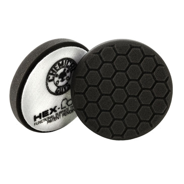 HEX-LOGIC PREMIUM SOFT -BLACK FINISHING PAD (5.5″INCH)