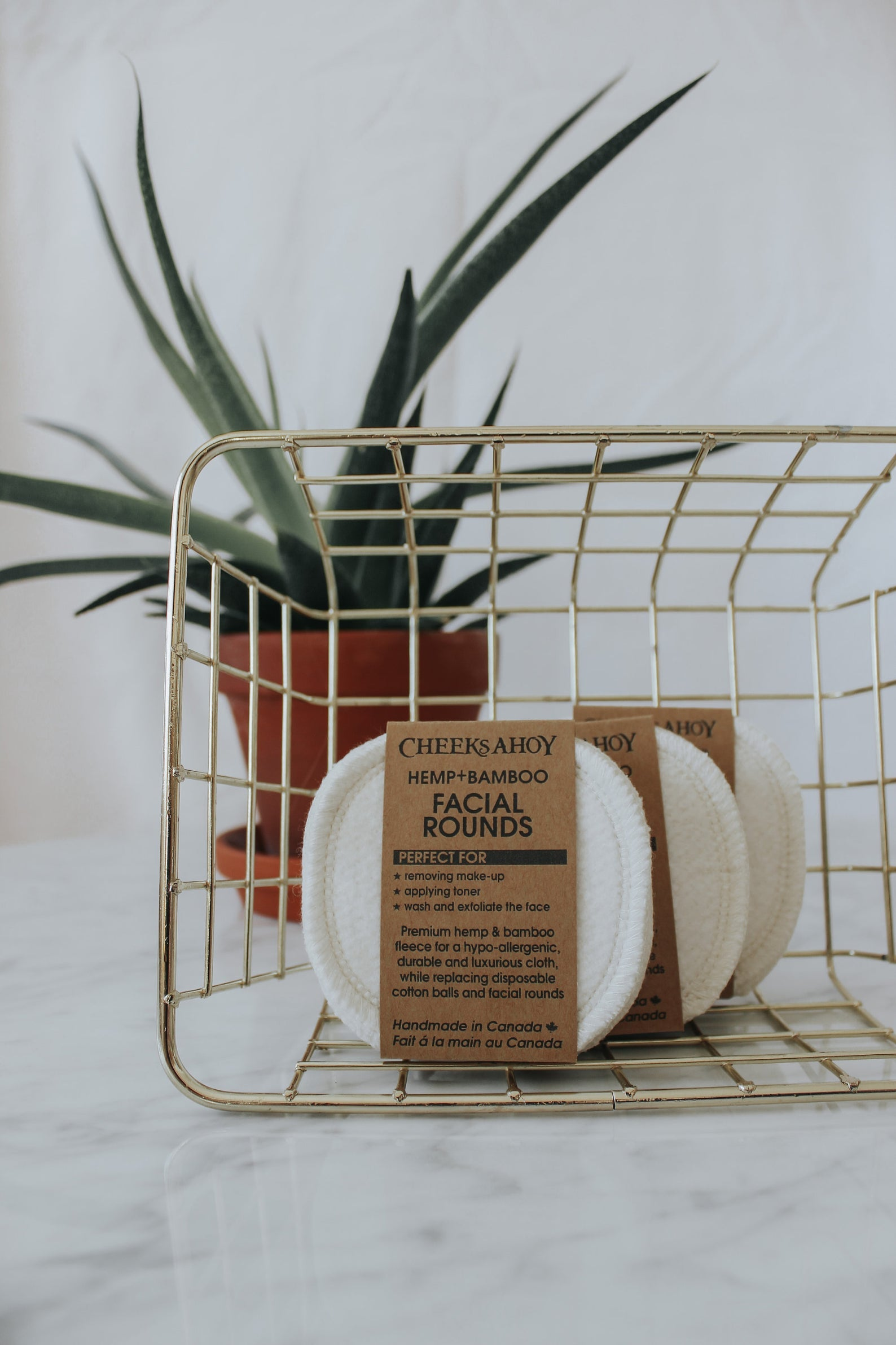 Hemp & Bamboo Facial Rounds | Cheeks Ahoy