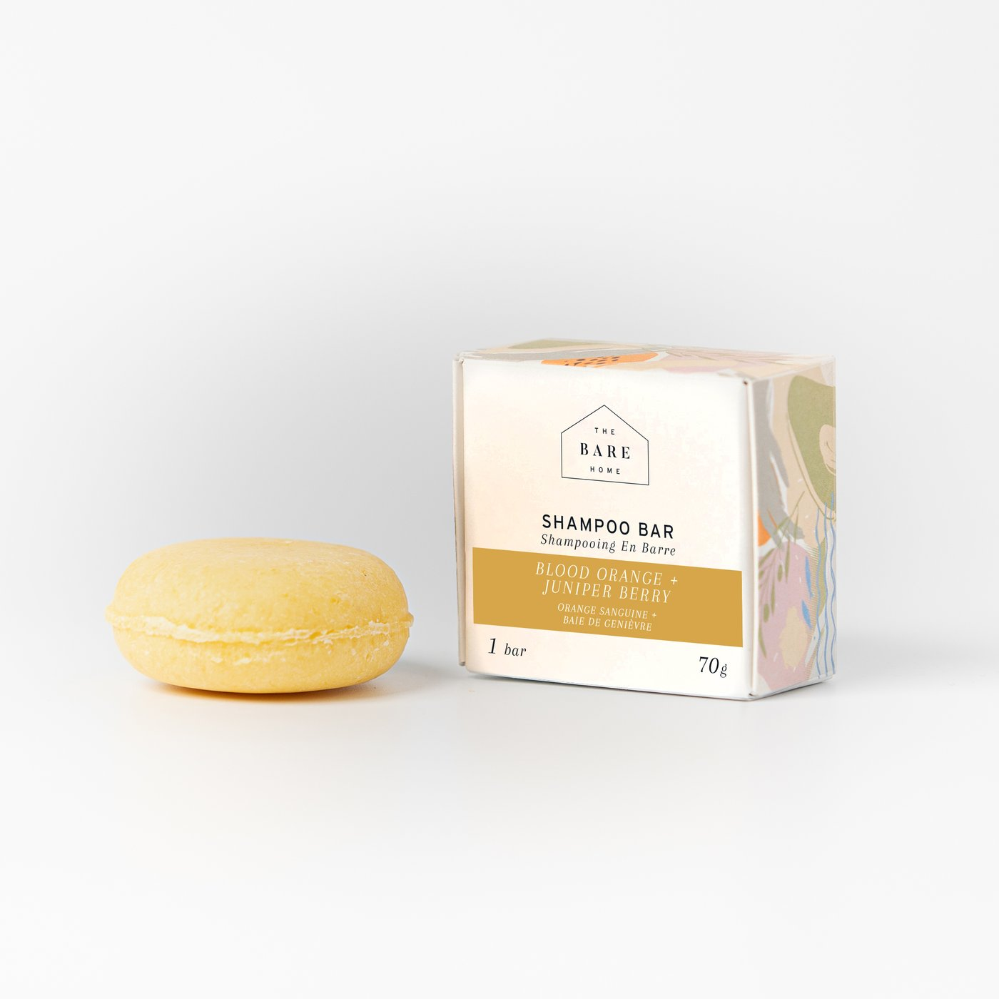 Blood Orange & Juniper Berry Shampoo Bar | the Bare Home