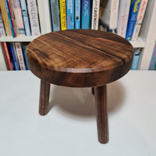 Load image into Gallery viewer, Solid Walnut Plant Stand 20cm