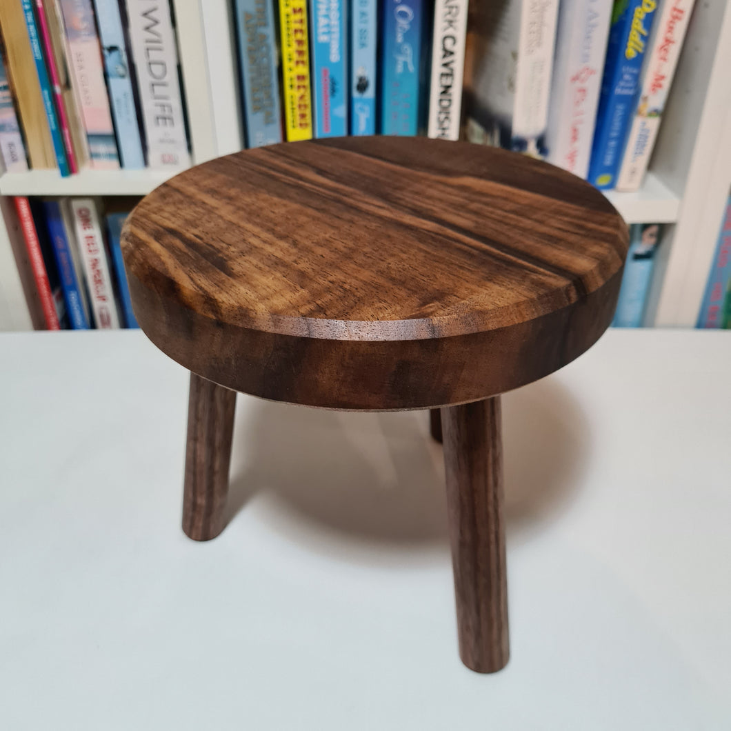 Solid Walnut Plant Stand 20cm