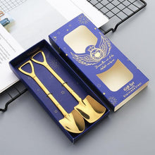 "Load image into Gallery viewer, ""Shovel"" Dessert Spoon Cutlery Set - Cicoom"