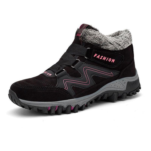 Warm Off-Road Boots With Velcro For Winter - Cicoom