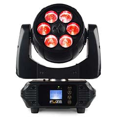 Moving Head LED 6x 10W DMX RGBW c/ Zoom - beamZ