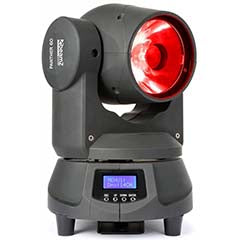 Moving Head RAYO LED 60W RGBW DMX - beamZ