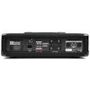 Mesa de Mistura Amplificada 4 Canais 800W c/ USB/MP3/AUX/BLUETOOTH - Power Dynamics