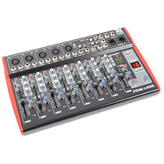 Mesa de Mistura 9 Canais c/ USB MP3 ECHO EQ - Power Dynamics