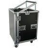 "Rack Metálica 19"" 8U + 12U c/ Rodas (PD-F12U8) - Power Dynamics"