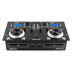 Controlador DJ Duplo Amplificado CD/MP3/USB/BLUETOOTH - VONYX