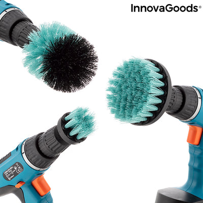Set of Cleaning Brushes for Drill Cyclean InnovaGoods 3 Pieces.
