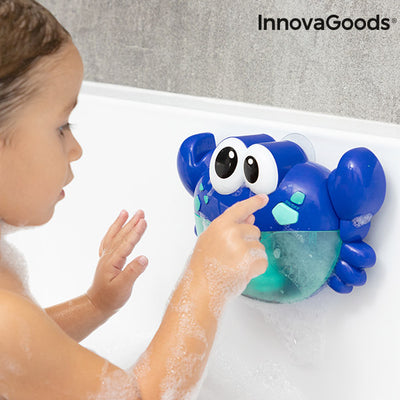Musical Crab with Soap Bubbles for the Bath Crabbly InnovaGoods.