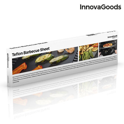 InnovaGoods Teflon Barbecue Sheet (Pack of 2).